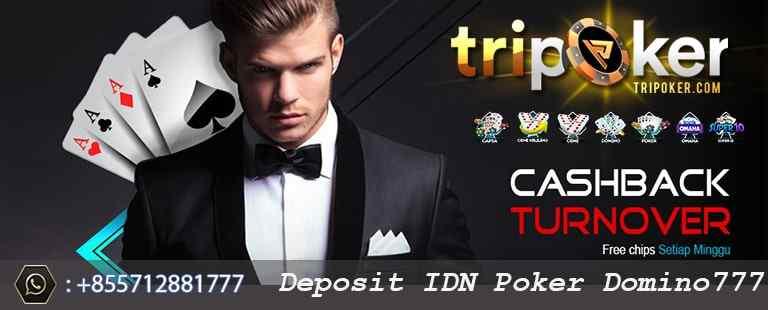 deposit idn poker domino777